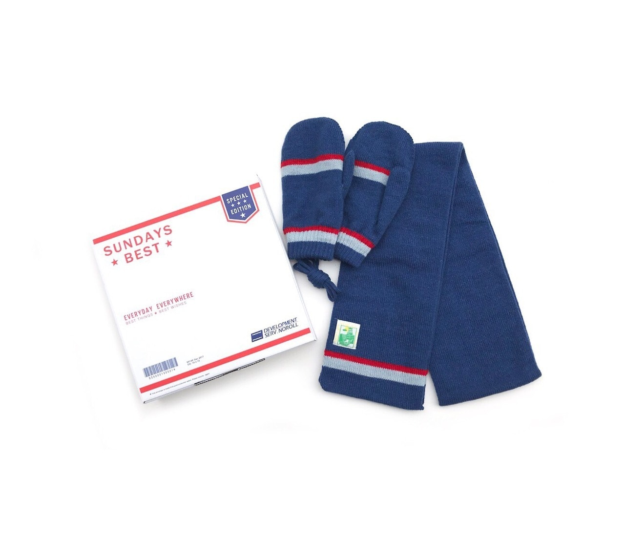 SUNDAYS BEST MITTEN & MUFFLER GIFT SET by NOROLL