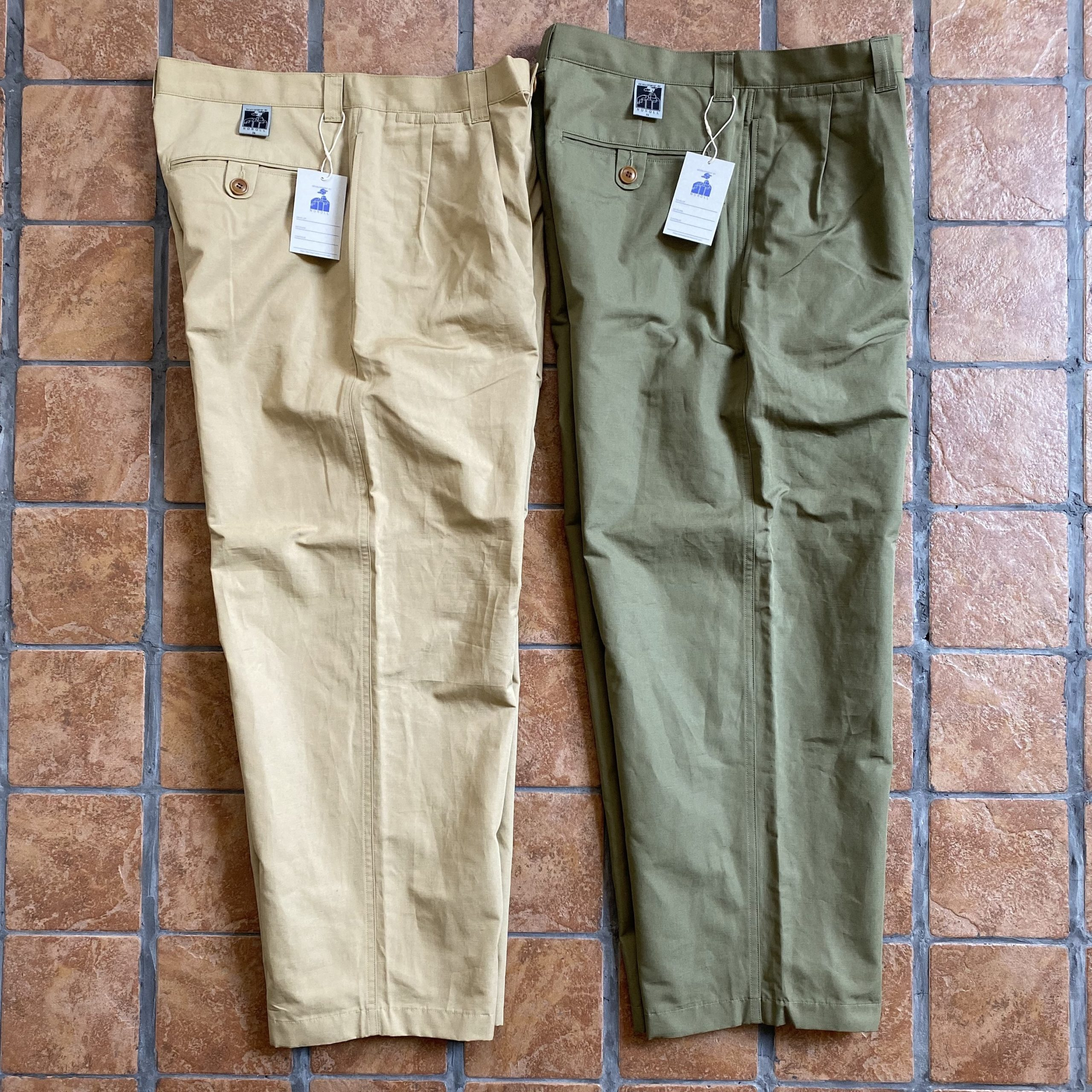 NOROLL 2020 SS ノーロール THICKWALK CHINO