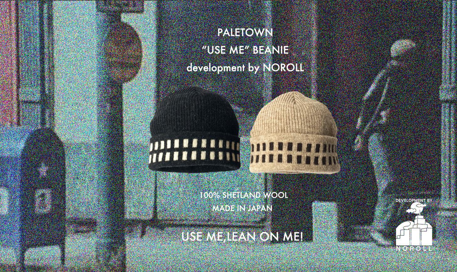 "PALETOWN ""USE ME""BEANIE"